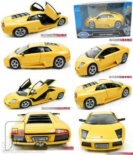 مجسم سيارة لامبورجيني صفراء Lamborghini LP640