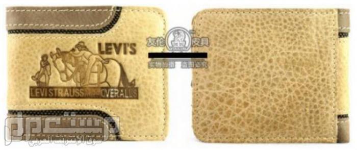 محافظ رجالية ماركات عالمية Levi's & Septwolves ماركة Levis العالمية موديل 3107السعر 150 ريال