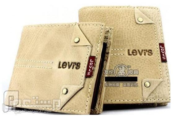 محافظ رجالية ماركات عالمية Levi's & Septwolves ماركة Levis العالمية موديل 3110 السعر 150 ريال