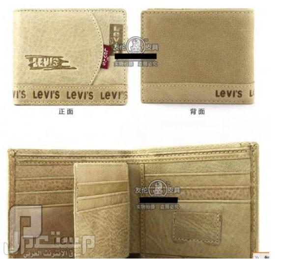 محافظ رجالية ماركات عالمية Levi's & Septwolves ماركة Levis العالمية موديل 3109 السعر 150 ريال