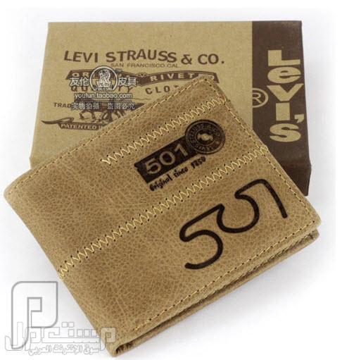 محافظ رجالية ماركات عالمية Levi's & Septwolves ماركة Levis العالمية موديل 2030 السعر 150 ريال