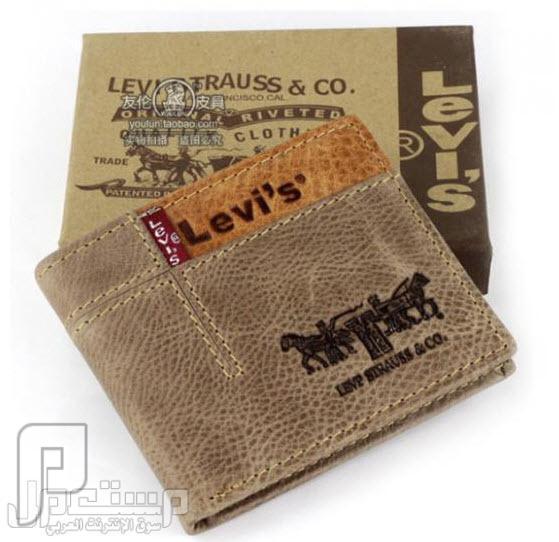 محافظ رجالية ماركات عالمية Levi's & Septwolves ماركة Levis العالمية موديل 2034 السعر 150 ريال