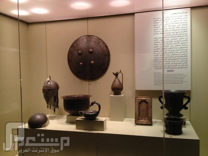 المتحف الوطني ودارة الملك عبدالعزيز ((تصويري)) نماذج للصناعات المعدنية