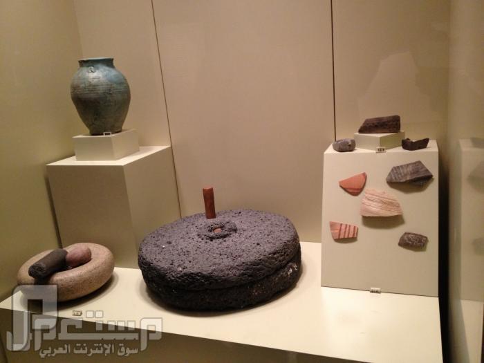 المتحف الوطني ودارة الملك عبدالعزيز ((تصويري)) مصنوعات فخارية