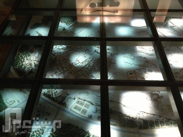 المتحف الوطني ودارة الملك عبدالعزيز ((تصويري)) مجسم للدرعية