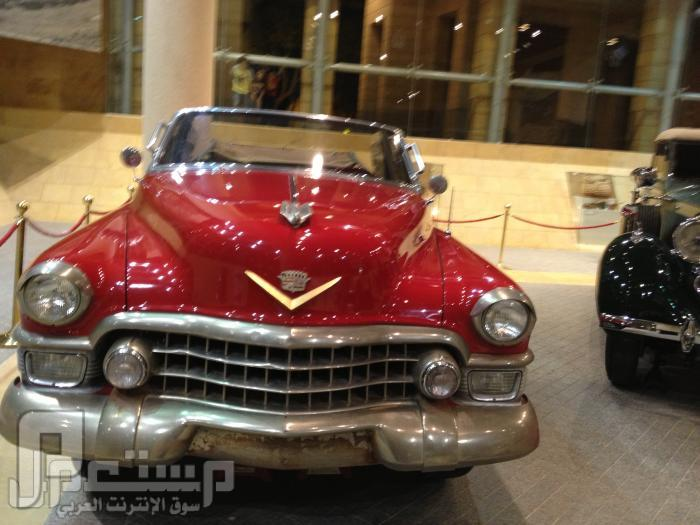 المتحف الوطني ودارة الملك عبدالعزيز ((تصويري)) احدى سيارات الملك عبدالعزيز رحمه الله