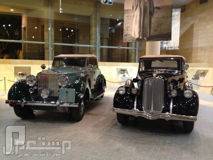 المتحف الوطني ودارة الملك عبدالعزيز ((تصويري)) من سيارات الملك عبدالعزيز رحمه الله