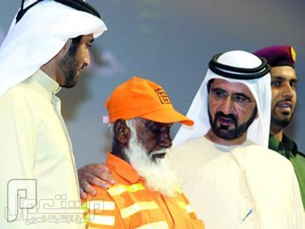 أين حكامنا من هذه المواقف | محمد بن راشد يطلق حملة لتكريم عمال الخدمات بدبي