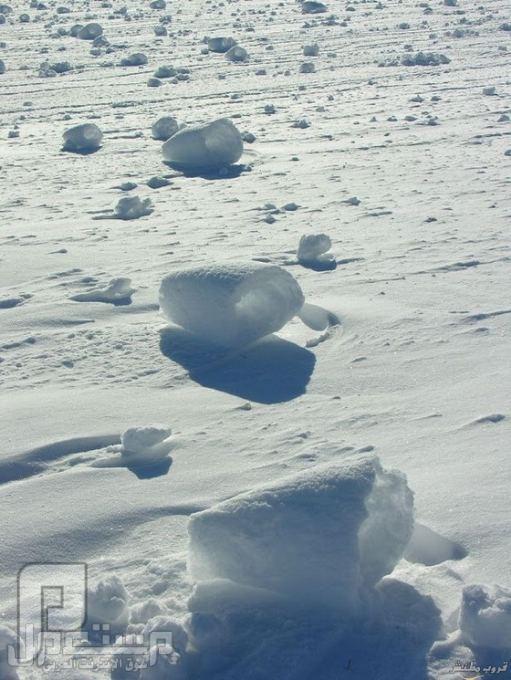 ظاهرة الثلوج الدوارة