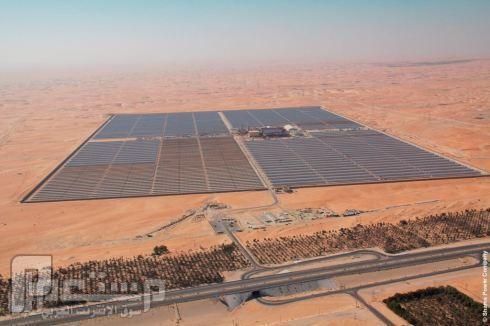 افتتاح اكبر محطة طاقة شمسية بالعالم في ابو ظبي