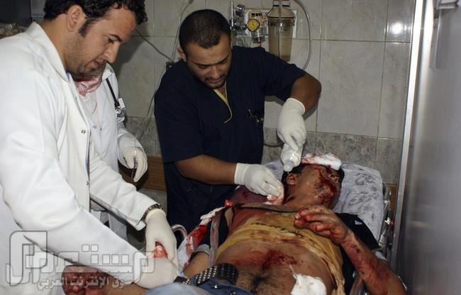 عاجل الان من قبل الحدث في مظاهرات العراق احد الجرحى من مجزرة الحويجة
