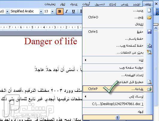 برنامج سهل ومجاني لتحويل ملفات Word الى pdf