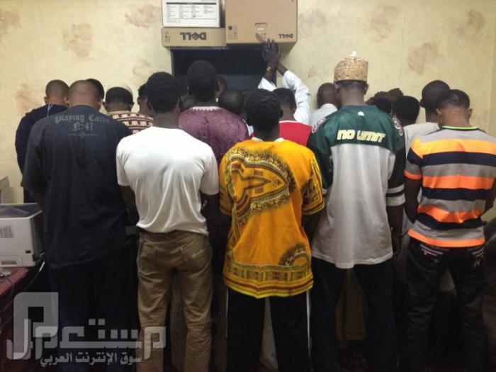 اعمال النشل والسرقه في الحرم عصابة النيجيريين