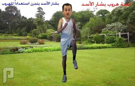 أنباء عن هروب بشار الأسد و أفراد عائلته إلى إيران