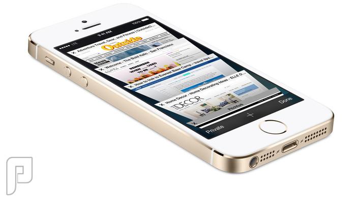 آيفون 5 أس .. يمكنك الطلب الان .. إبتداء من 20 سبتمبر نظام تشغيل IOS 7 ..