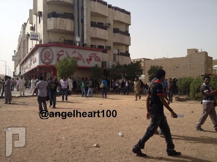 الوضع الان في منفوحة (تسليم الأثيوبيين أنفسهم لقوات الأمن)