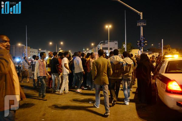 عاجل: تجدد فوضى الإثيوبيين في منفوحة الرياض