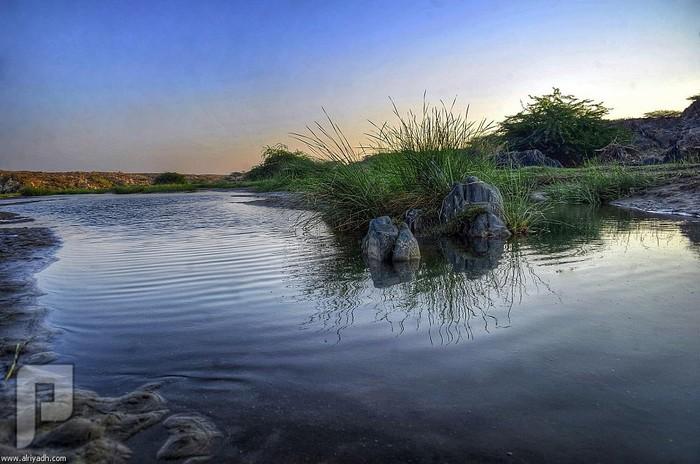 «وادي عليب» بالباحة