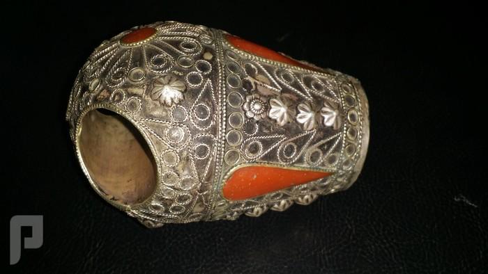 مجموعة من الخواتم والاختام الايرانية التراثية  من الفضة والعقيق البند 1