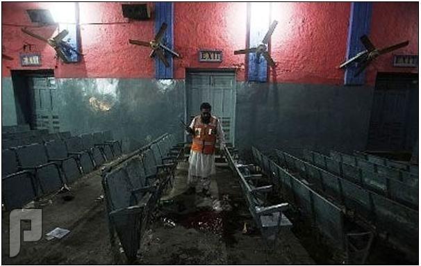 إنفجار في سينما تعرض أفلام اباحية وموت 10 أشخاص!!