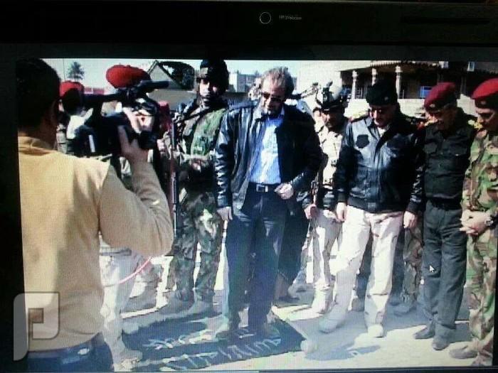 المالكي يتوسل بالشيوخ العملاء ان ينقذوه من صولة الانبار هذا وزير دفاع المالكي سعدون اللا دليمي