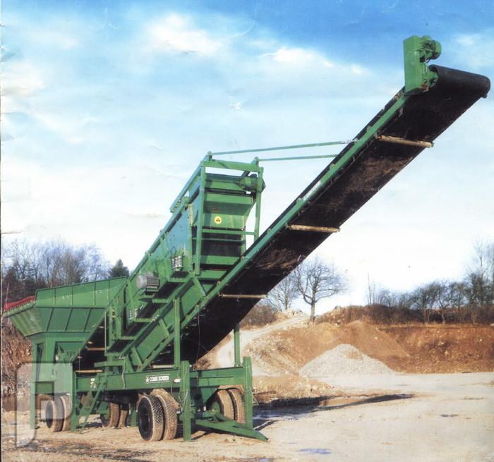 تصنيع وتوريد هزازات الزلط والرمل