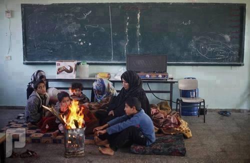قذيفه من جيش المالكي على منزلنا بالفلوجة العوائل من الفلوجة الساكنه في المدارس