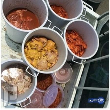 مصادرة أكثر من 200 حبة من الدجاج الفاسد في مدينة جدة
