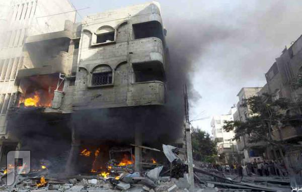 المقاتلات الإسرائيلية تواصل حرق غزة.. والضحايا 204 شهداء