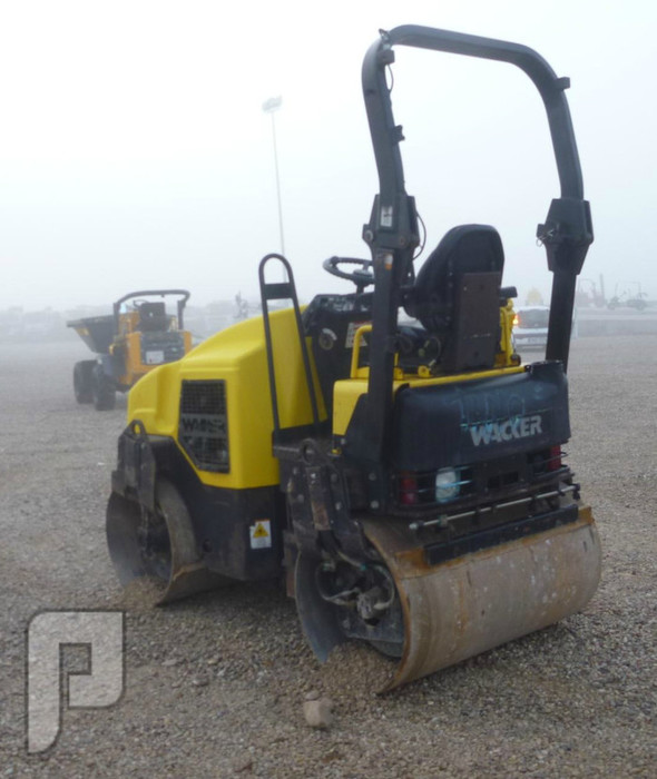 IT#605-2006 WACKER RD27-120 Tandem Vibratory Roller