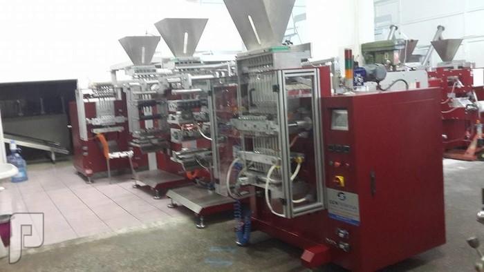 آلة تغليف السكر من  2 الى 10 غرام  للفنادق والمقاه