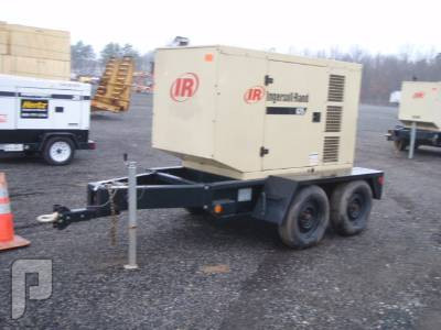 IT# 2201 - 2005 INGERSOLL-RAND G75 59 KW PORTABLE GEN SET