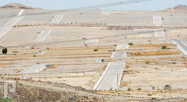 حصر الأراضي المجمدة المملوكة لتوزيعها على شرائح