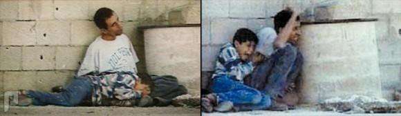صور لن تمحى من الذاكرة ، صورة محمد الدرة يحتمي بوالده ويحتضر