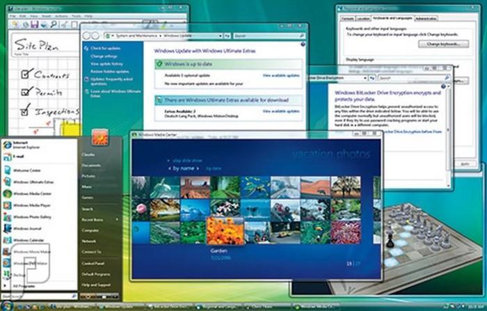 اصدارات وندوز والصراع بين شركات نظام أندرويد وأبل ويندوز فيستا (2006-2008)