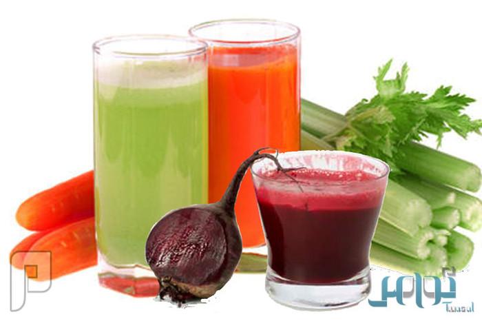 عصائر الخضراوات.. تغذي الجسم وتنقص الوزن