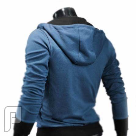 مجموعة ولا اروع من اجمل الجواكيت الرجالى الانيقة جاكيت أزرق اللون رجالي موديل 109