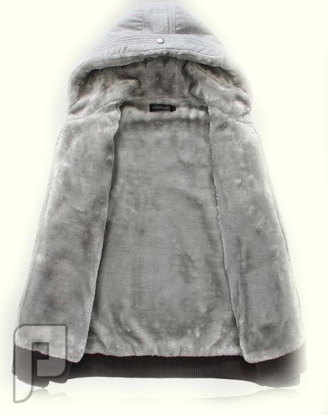 مجموعة ولا اروع من اجمل الجواكيت الرجالى الانيقة جاكيت رجالي رمادي اللون موديل 134