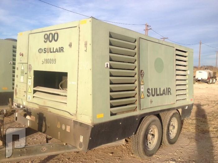 IT# 240- 2008 SULLAIR 900DTQ AIR COMPRESSOR am