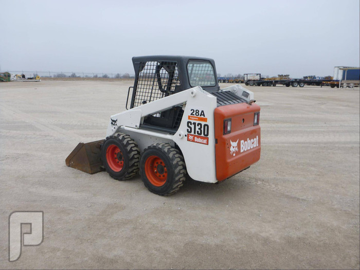 IT# 28a - 2008 BOBCAT S130 skid steer loader am12