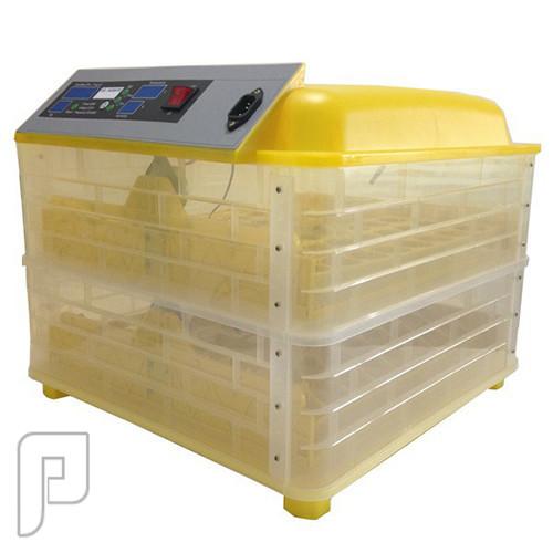 جهاز تفقيس بيض الطيور الأتوماتيكي الذي يسع ل 96 بيضة ويعمل بالكهرباء الجهاز مجمع