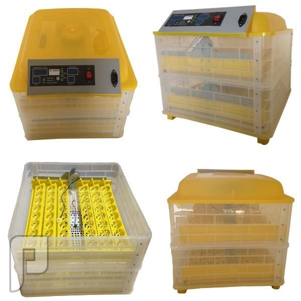 جهاز تفقيس بيض الطيور الأتوماتيكي الذي يسع ل 96 بيضة ويعمل بالكهرباء صور مختلفة مجمعة لجهاز تفقيس البيض