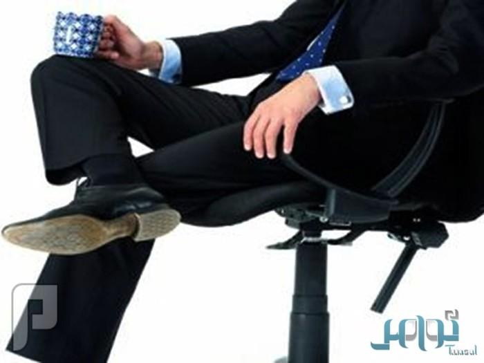 تحذير مخاطر وضع الساق على الاخرى