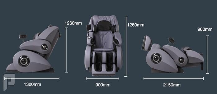 كرسي التدليك و المساج الشامل لكل أجزاء الجسم موديل M06 الأغلى والأفضل أبعاد الكرسي