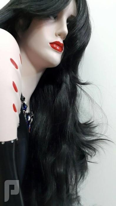 باروكة شعر نسائي طويله 48 أنش مستورده من دبي 550 ريال طبيعي 90 %