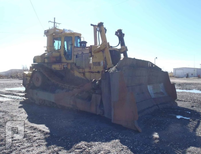 IT# 95K-1991 CATERPILLAR D10N Crawler Tractor