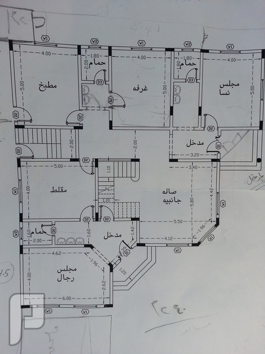 مشروتكم بمخططي الهندسي لدور وشقة مفروشة