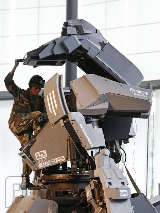 روبوت مقاتل في اليابان