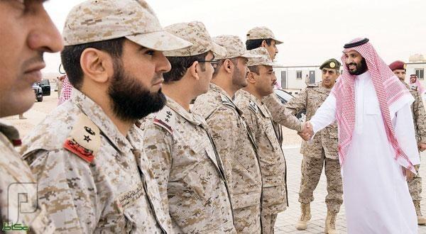 فتح باب القبول بالخدمة العسكرية بهيئة إدارة القوات البرية 1436 وزير الدفاع الامير محمد بن سلمان