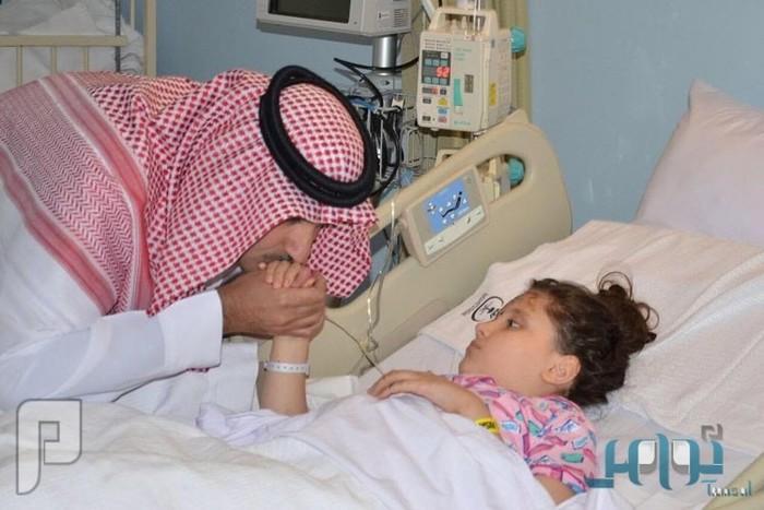 أمير المدينة يتكفل بطفلة سورية فقدَت أُسْرتها في حادث